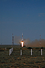 Soyuz TMA-15 Launch   Stock Foto