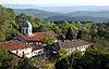 圣尼古拉斯修道院阿巴纳西 | 免版税照片