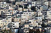 Arab Silwan Village in Jerusalem | Stock Foto