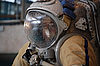 ID 3119170 | Hydrolab에서의 훈련 후 미국 우주 비행사 마이클 Barratt | 높은 해상도 사진 | CLIPARTO