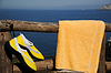 ID 3324772   Yellow Beach Shoes and Towel   High resolution stock photo   CLIPARTO
