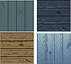 Vector clipart: wood backgrounds
