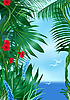 Tropic sea | Stock Illustration