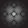 Vector clipart: lotus pattern