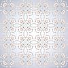 Vector clipart: grey pattern lotus