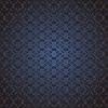 Векторный клипарт: цветочный темно-синий дизайн