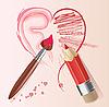 Vector clipart: love story heart