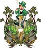 Leprechaun, St. Patrick day | Stock Illustration