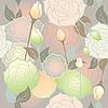 nahtloser Hintergrund von Rosen