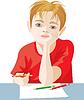 Zeichnen Junge | Stock Vektrografik