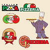 Pizza-Logo | Stock Vektrografik