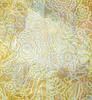 Papel arrugado patrón floral | Ilustración