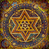Photo 300 DPI: geometric pattern with Star of David