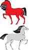 Vector clipart: symbol animal colored