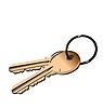 Векторный клипарт: золотые ключи