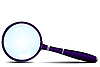 Magnifying glass | Stock Vector Graphics