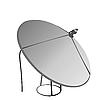 Vector clipart: Satellite antenna