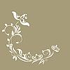 Vector clipart: luxurious invitation card
