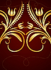 Vector clipart: Gold background
