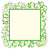 Vector clipart: eco green frame
