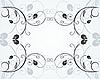 Векторный клипарт: цветочный фон декора для дизайна