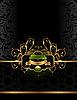 Vector clipart: golden luxury background