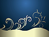 Vector clipart:  Luxury background card for design