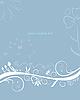 Vector clipart: Abstract flower design