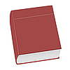 Vector clipart: closed book