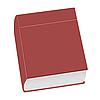 Векторный клипарт: закрытая книга