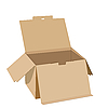 Vector clipart: box