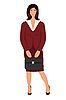 Векторный клипарт: бизнес-леди с делом