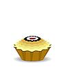 Векторный клипарт: мило кекс