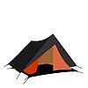Векторный клипарт: Туристические палатки, изолированные на белом