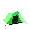 Vector clipart: Tourist tent on white