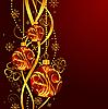 Векторный клипарт: дизайн с новогодними елочными шарами