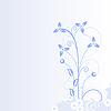 Векторный клипарт: Абстрактный фон цветы