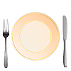 Vector clipart: plate