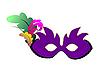 Векторный клипарт: карнавал маска