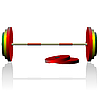 Vector clipart: Realistick dumbbell