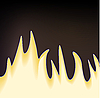Векторный клипарт: Пламя