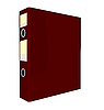 Vector clipart: close red folder