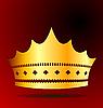 Иллюстрация золотой царский венец