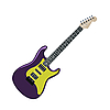 Vector clipart: electric guitar