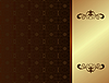 Vector clipart: Luxury card or invitation