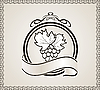 Векторный клипарт: ретро этикетки для упаковки вина