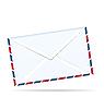 Векторный клипарт: конверт пост