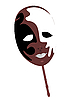 Vector clipart: carnivals mask