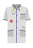 Medical dressing gown of
