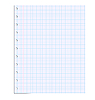 Vector clipart: Notebook paper